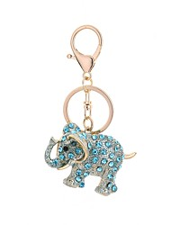 cheap -Keychain Jewelry Light Blue / Light Brown / Light Pink Animal Alloy Casual / Fashion Gift / Daily