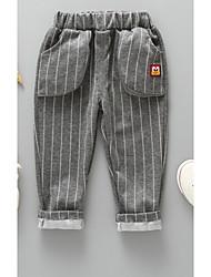 cheap -Toddler Unisex Striped Pants