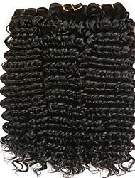 Недорогие -3 Связки Малазийские волосы Волнистый 8A Натуральные волосы Накладки из натуральных волос Естественный цвет Ткет человеческих волос Удлинитель Горячая распродажа Расширения человеческих волос Все
