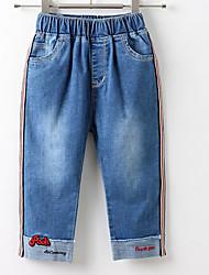 cheap -Kids / Toddler Girls' Patchwork Jeans