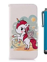 cheap -Case For Nokia Nokia 5 / Nokia 3 Wallet / Card Holder / with Stand Full Body Cases Unicorn Hard PU Leather for Nokia 5 / Nokia 3 / Nokia 1