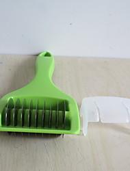 economico -Utensili da cucina Acciaio inox + plastica Solidità / Facile da trasportare / Cucina creativa Gadget Peeler & grattugia Uso quotidiano / Patata / Carota 1pc
