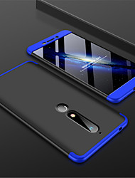 cheap -Case For Nokia Nokia 7 Plus / Nokia 6 2018 Frosted Back Cover Solid Colored Hard PC for Nokia 7 Plus / Nokia 6 2018