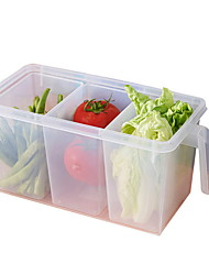 cheap -Kitchen Organization Food Storage / Storage Boxes PP (Polypropylene) Storage 1pc