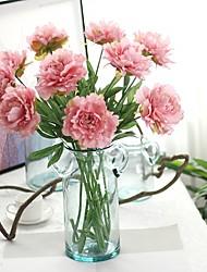 cheap -Artificial Flowers 1 Branch Simple Style / Wedding Flowers Peonies / Eternal Flower Tabletop Flower