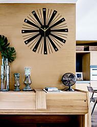 preiswerte -Modern / Zeitgenössisch Holz Kreisförmig Innen / Aussen,AA-Batterien angetrieben / AA