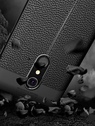 cheap -Case For LG K10 2018 Embossed Back Cover Solid Colored Soft TPU for LG K10 2018
