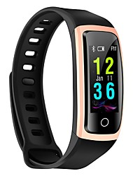 cheap -Smart Bracelet CB606 for iOS / Android 4.3 and above Heart Rate Monitor / Waterproof / Blood Pressure Measurement / Pedometers / Long Standby / Exercise Record / Cool Pedometer / Call Reminder / 64MB