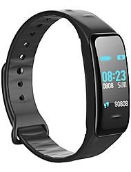 baratos -Pulseira inteligente C1 PLUS for iOS / Android Tela de toque / Impermeável / Calorias Queimadas Podômetro / Monitor de Atividade /