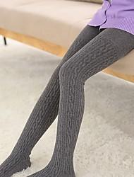 Недорогие -1 Дети Девочки Однотонный Белье / носки