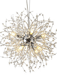 cheap -OYLYW 8-Light Sputnik Chandelier Ambient Light - Mini Style, 110-120V / 220-240V, Warm White / White, Bulb Included / G9 / 5-10㎡