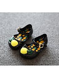 baratos -Para Meninas Sapatos PVC Primavera Verão Conforto Tênis para Preto / Amêndoa / Verde Claro