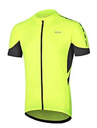 economico -Arsuxeo Manica corta Maglia da ciclismo - Grigio scuro / Blu / Grigio Bicicletta