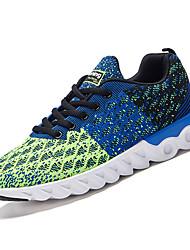 cheap -Men's Mesh Winter Comfort Athletic Shoes Walking Shoes Gray / Light Blue / Royal Blue