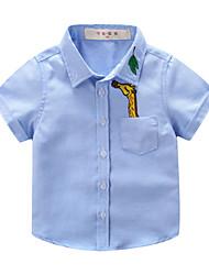 economico -Bambino / Bambino (1-4 anni) Da ragazzo Con stampe Manica corta Camicia