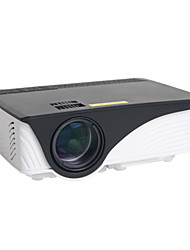 cheap -HTP GP-12 LCD Mini Projector LED Projector 800 lm Support 1080P (1920x1080) 30-120 inch Screen / WVGA (800x480) / ±15°