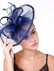 Недорогие -Жен. Мода / Элегантный стиль Чародей - Цветы / Сетка Однотонный / Свадьба / Все сезоны