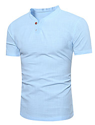 cheap -Men's Active / Basic T-shirt - Solid Colored