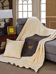 Недорогие -Комфортное качество Подголовник Складной подушка Полиэстер / Пена с памятью Полиэстер