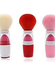 billige Rougebørster-1 dusin Makeup børster Profesjonell Rougebørste Syntetisk hår Full Dekning Plast