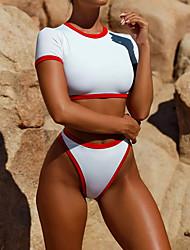 economico -Per donna Bikini Tinta unita Tanga