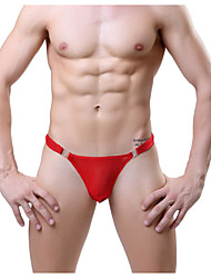 cheap -Men's G-string Underwear Solid Colored Low Rise
