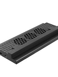 abordables -Xbox One Slim Câblé Chargeur Ventilateurs Pour Xbox One Portable Chargeur Ventilateurs ABS 1pcs unité USB 2.0