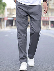 abordables -Hombre Deportivo Pantalones de Deporte Chinos Pantalones - Un Color