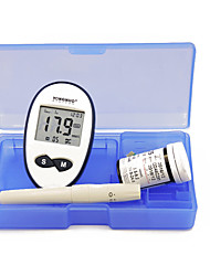 cheap -Factory OEM Blood Glucose Meter GLM-76 for Men and Women Power-Off Protection / Power light indicator / Ergonomic Design