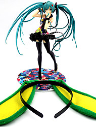 cheap -Anime Action Figures Inspired by Vocaloid Hatsune Miku PVC 21cm CM Model Toys Doll Toy