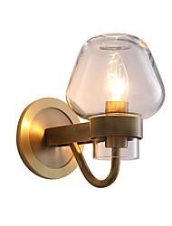 baratos -JLYLITE Estilo Mini Simples / Moderno / Contemporâneo Luminárias de parede Interior / Garagem Metal Luz de parede 110-120V / 220-240V 40W