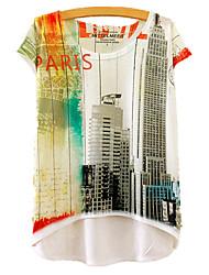 preiswerte -Damen Geometrisch T-shirt Druck