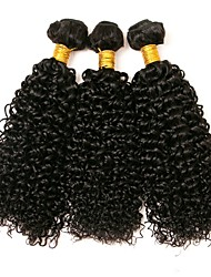 cheap -Indian Hair Curly Human Hair Extensions 3 Bundles Human Hair Weaves Extention Natural Black Human Hair Extensions All