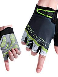baratos -Luvas Esportivas Luvas de Ciclismo Anti-Escorregar / Respirável Microfibra / Lycra Spandex Ciclismo de Estrada / Ciclismo / Moto Homens