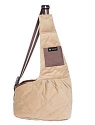 cheap -Dogs / Cats / Pets Shoulder Bag Pet Carrier Portable / Travel Solid Colored / Creative / British Black / Beige / Blue