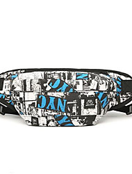 baratos -Homens Bolsas Náilon Sling sacos de ombro Ziper Azul