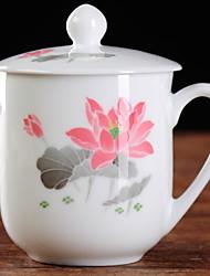 Недорогие -Drinkware Китай Чайные чашки Кружка Теплоизолированные 1pcs