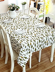 economico -Moderno PVC / Cotone Quadrato Tovaglie Fantasia geometrica Decorazioni da tavola 2 pcs