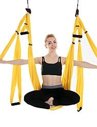 baratos -Balanço de ioga aérea / Rede / Trapézio Exercícios de Inversão / Fitness Antigravidade Ultra Forte Fibra de Nailom / Náilon