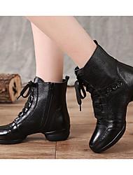 economico -Per donna Stivaletti da danza Pelle Sneaker Basso Scarpe da ballo Nero / Prestazioni / Da allenamento