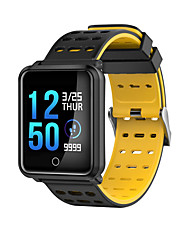 cheap -Smartwatch STN88 for Android iOS Bluetooth Waterproof Heart Rate Monitor Blood Pressure Measurement Touch Screen Long Standby Pedometer Call Reminder Sleep Tracker Find My Device / Alarm Clock