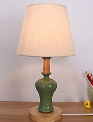 baratos -Moderno / Contemporâneo Decorativa Luminária de Mesa Para Cerâmica 200-240V Verde