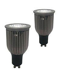 cheap -ZDM® 2pcs 9W 1 LEDs LED Spotlight Warm White Cold White Natural White 85-265V Cabinet Commercial Home / Office