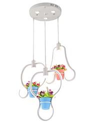 abordables -6-luz Racimo Lámparas Araña Luz Downlight - Mate, Mini Estilo, 110-120V / 220-240V, Blanco Cálido, Bombilla incluida / 20-30㎡ / VDE