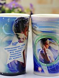 Недорогие -Drinkware Фарфор Кружка Термочувствительных изменения цвета Теплоизолированные 1pcs