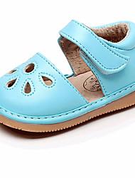 Недорогие -Девочки Обувь Полиуретан Весна лето Обувь для малышей Сандалии Пряжки для Дети Пурпурный / Розовый / Светло-синий