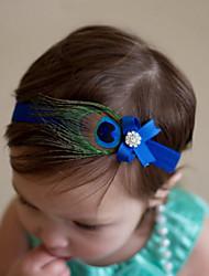 abordables -Bébé Fille Plumes Accessoires Cheveux