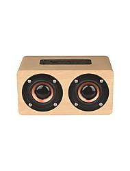 economico -W5C Altoparlante Bluetooth / Altoparlante / Radio FM Bluetooth 4.2 Micro USB Casse acustiche per esterni Giallo / Rosso scuro