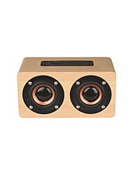 cheap -W5C Bluetooth Speaker / Loud Speaker / FM Radio Bluetooth 4.2 Micro USB Outdoor Speaker Yellow / Dark Red