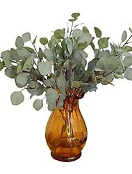 Недорогие -Искусственные Цветы 6 Филиал Односпальный комплект (Ш 150 x Д 200 см) Стиль / Модерн Pастений / Вечные цветы Букеты на стол